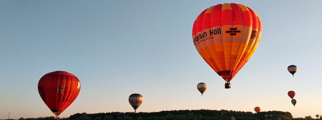 Hot air balloon flights Makariv