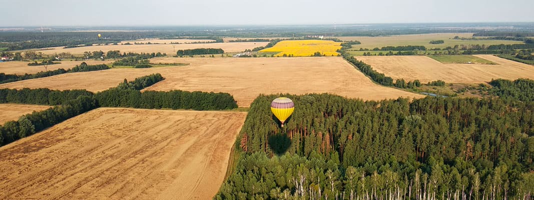 Hot air balloon flights in Ukraine